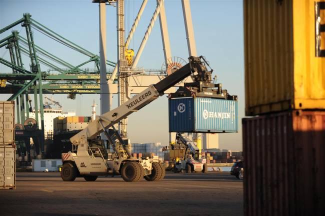 verhuur container handling keuleers