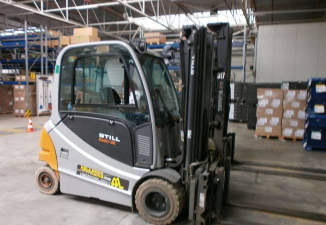 STILL RX60-35 Electrisch heftruck 3.5 ton met gesloten cabine en verwarming